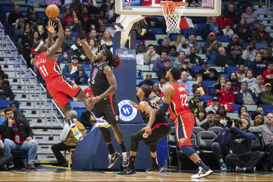 Holiday's 36 points push Pelicans past Clippers 132-127