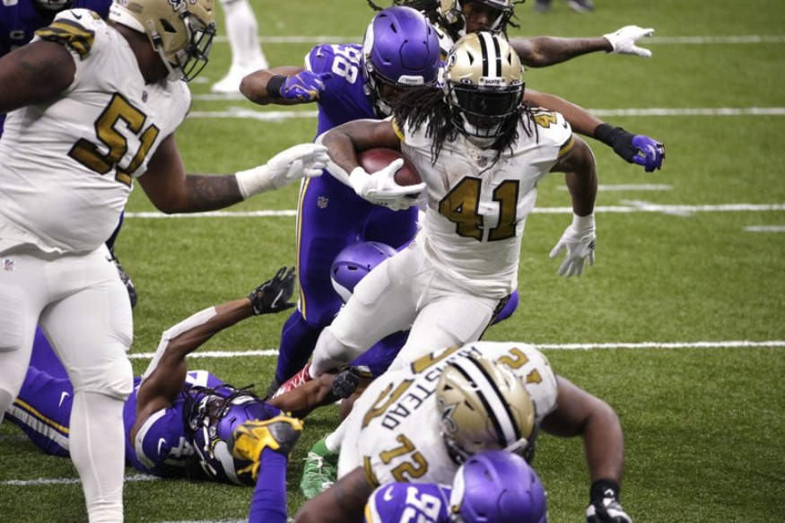 Kamara on COVID-19 list, could miss Saints' playoff opener